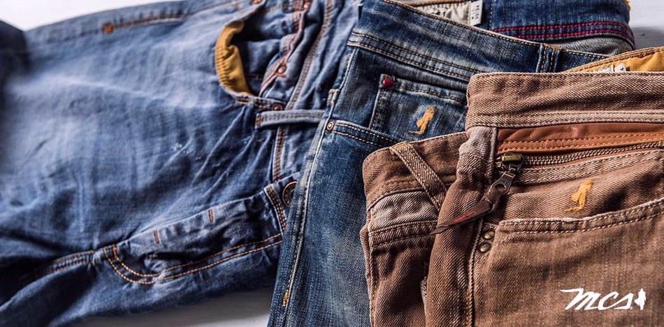 Outlet jeans uomo mcs online con spedizione Italia Gratis