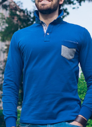 Polo T-shirt long sleeves