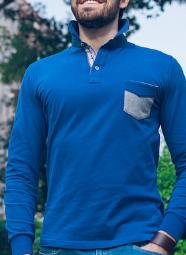 Polo-T-shirt maniche lunghe