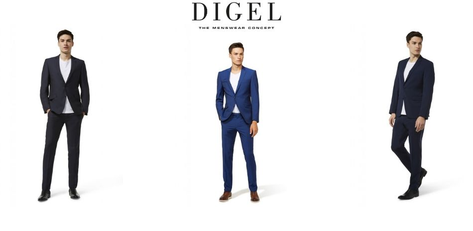 Men's clothing line slim fit young Digel - John Barritt
