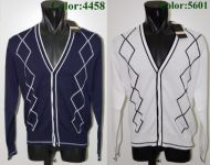 Bramante cardigans Men Slim Fit 100% Cotton