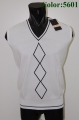 White slim fit vest men bramante
