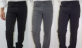 Wool stretch jeans men cerruti 1881