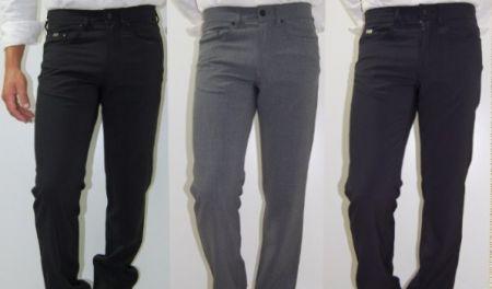 Jeans uomo lana stretch cerruti 1881