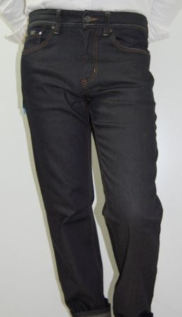 Jeans uomo denim stretch cerruti 1881 nero