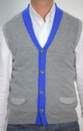 Sweater vest slim fit daniele fiesoli