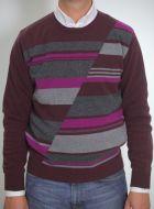 Maglione giro collo bramante cashmere lana