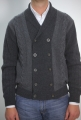 Sweater cardigan bramante double chest