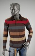 Polo sweatshirt 100% cotton marlboro classics