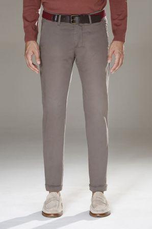 Pantalone slim fit in cinque colori b700 stretch