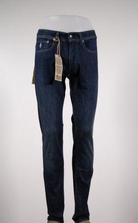 Jeans denim stretch cinque tasche mcs lavaggio medium wash
