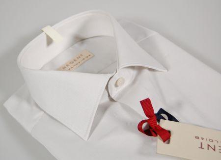 Camicia slim fit grigio perla regent by pancaldi puro cotone