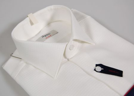 White shirt slim fit no-iron cotton ingram worked