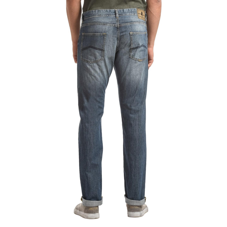 online store dbdc1 249b8 Jeans cinque tasche denim chiaro effetto lavato lunghezza 36 ...