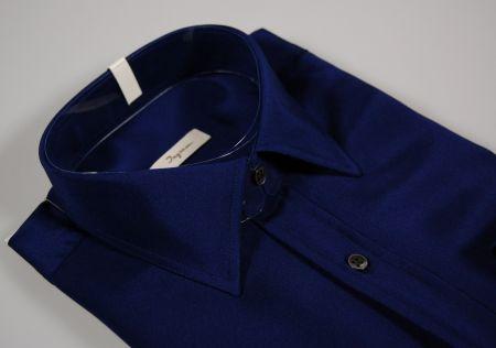 Man shirt 100% silk ingram in three colors