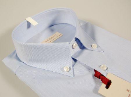Camicia celeste pancaldi button down in cotone