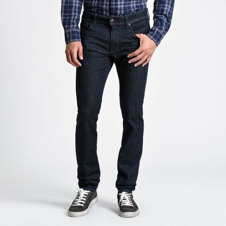 Five-Pocket jeans blue stretch denim mcs
