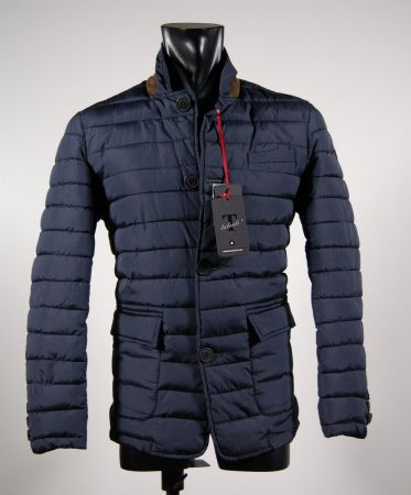 Ecological feather jacket field jacket in two colors