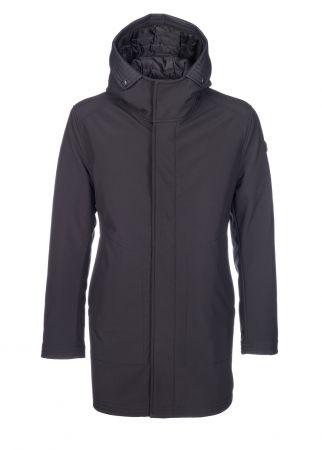 Jacket with hood neoprene talents