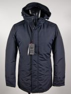 Talenti down jacket in blue and green
