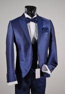 Tuxedo bluette musani Milan ceremony slim fit
