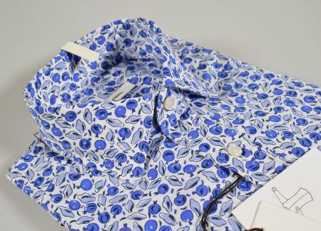Camicia ingram slim fit cotone elasticizzato