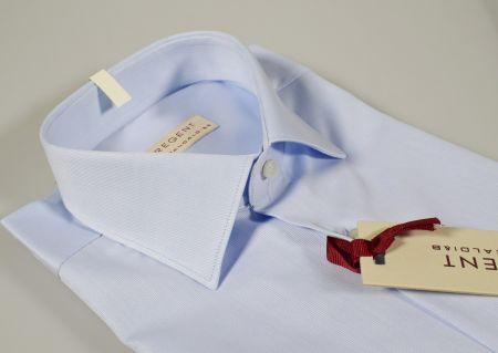 Camicia pancaldi celeste chiaro vestibilità regolare