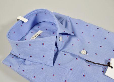 Blue shirt ingram slim fil coupè