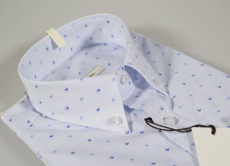 Button down shirt with pocket ingram regular fit