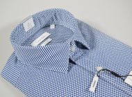 Calvin klein blue patterned shirt