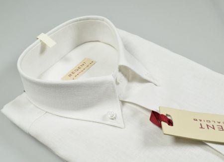 Button down shirt cotton linen pocket pancaldi in two colors