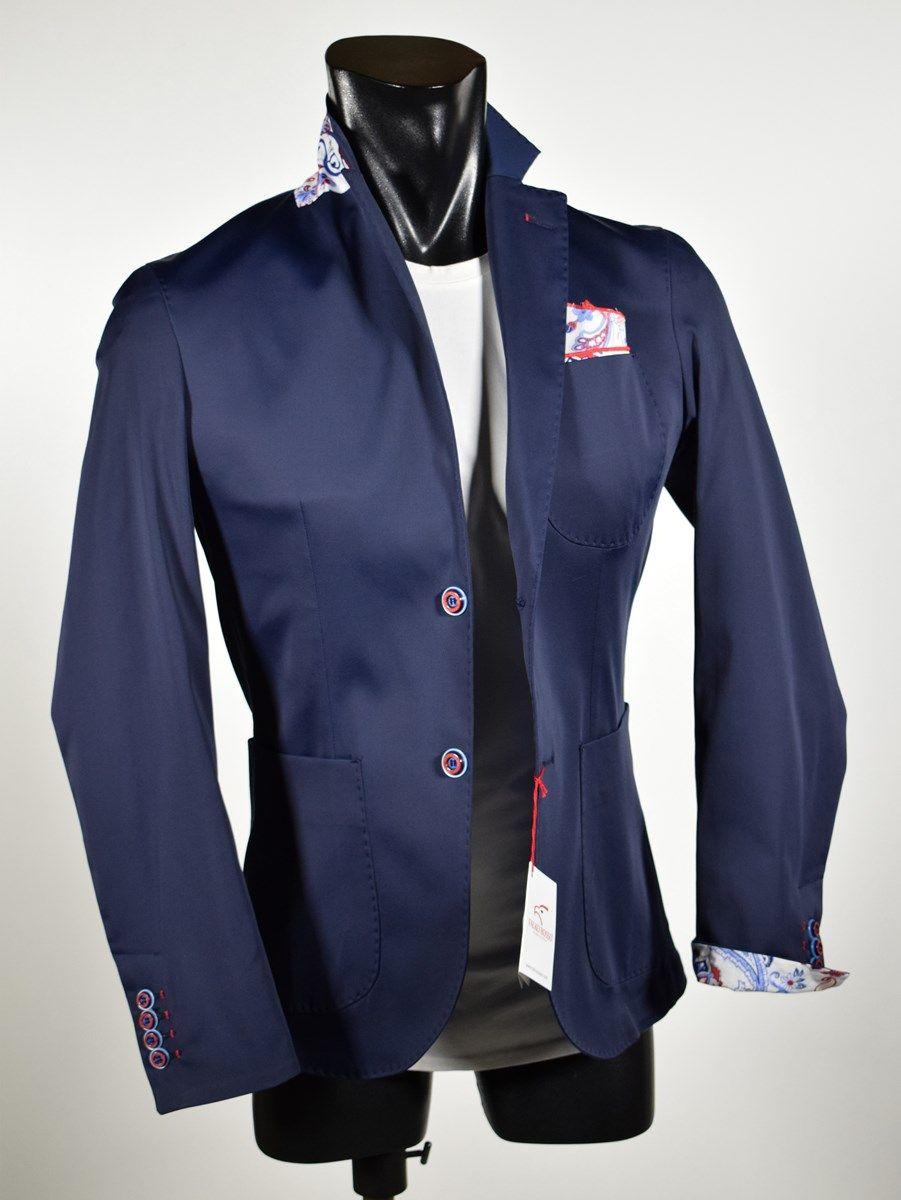 Men s fashion jacket spring summer slim fit Falko Rosso made in Italy 5abbfdb84b2