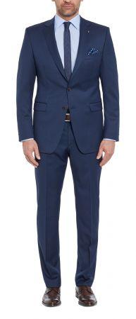 Navy blue dress digel drop six modern fit wool reda 110 's