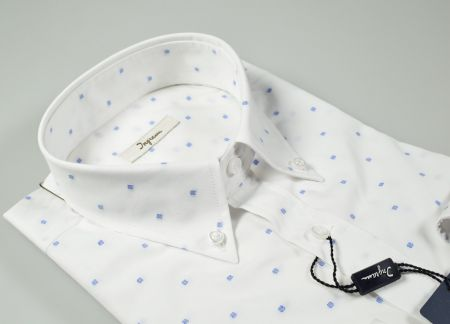 Ingram button down shirt with regular fit pocket