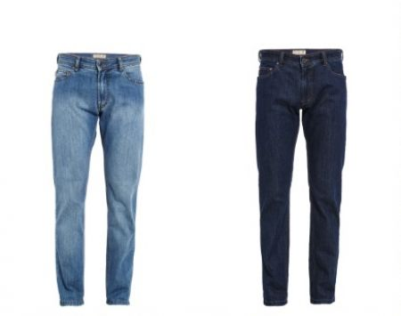 Jeans digel denim stretch modern fit in due colori