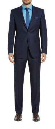 Abito blu navy digel drop sei modern fit tessuto reda 110's