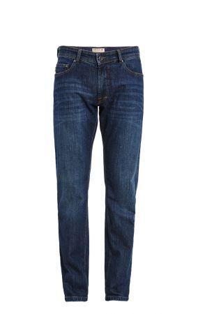 Jeans digel denim stretch blu lavaggio leggero stone washed modern fit
