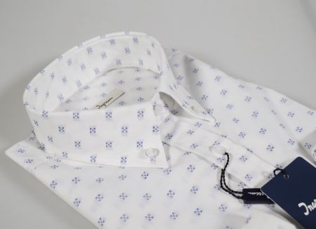 Camicia button down ingram fil coupè regular fit in due colori
