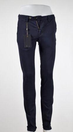 Pantalone bsettecento cotone stretch lavorato slim fit in tre colori
