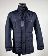 Field jacket blue adimari quilted coat