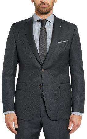 Dress Digel Drop four short grey dark micro design wool Reda Super 110 's