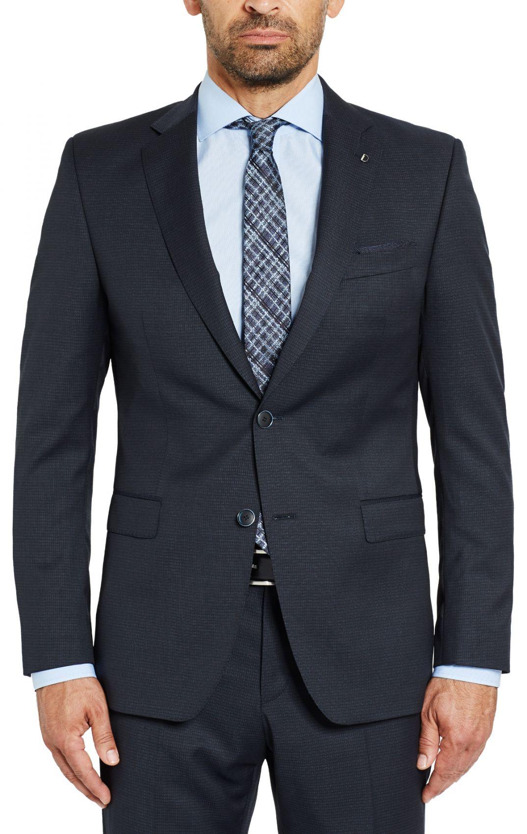 9b55750ba2 Blue Dress Micro Design digel drop four short wool Reda Super 110
