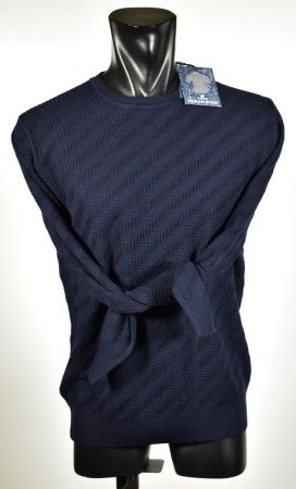 Ocean Star sweater Round neck made in Italy three colors