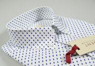 Camicia button down pancaldi regular fit con taschino