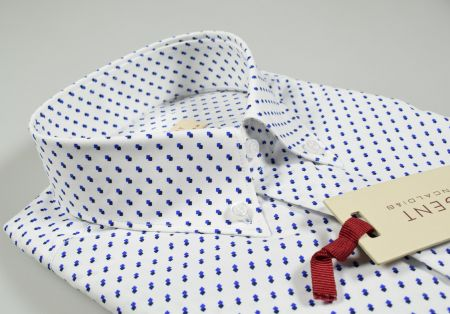 Camicia button down pancaldi regular fit con taschino