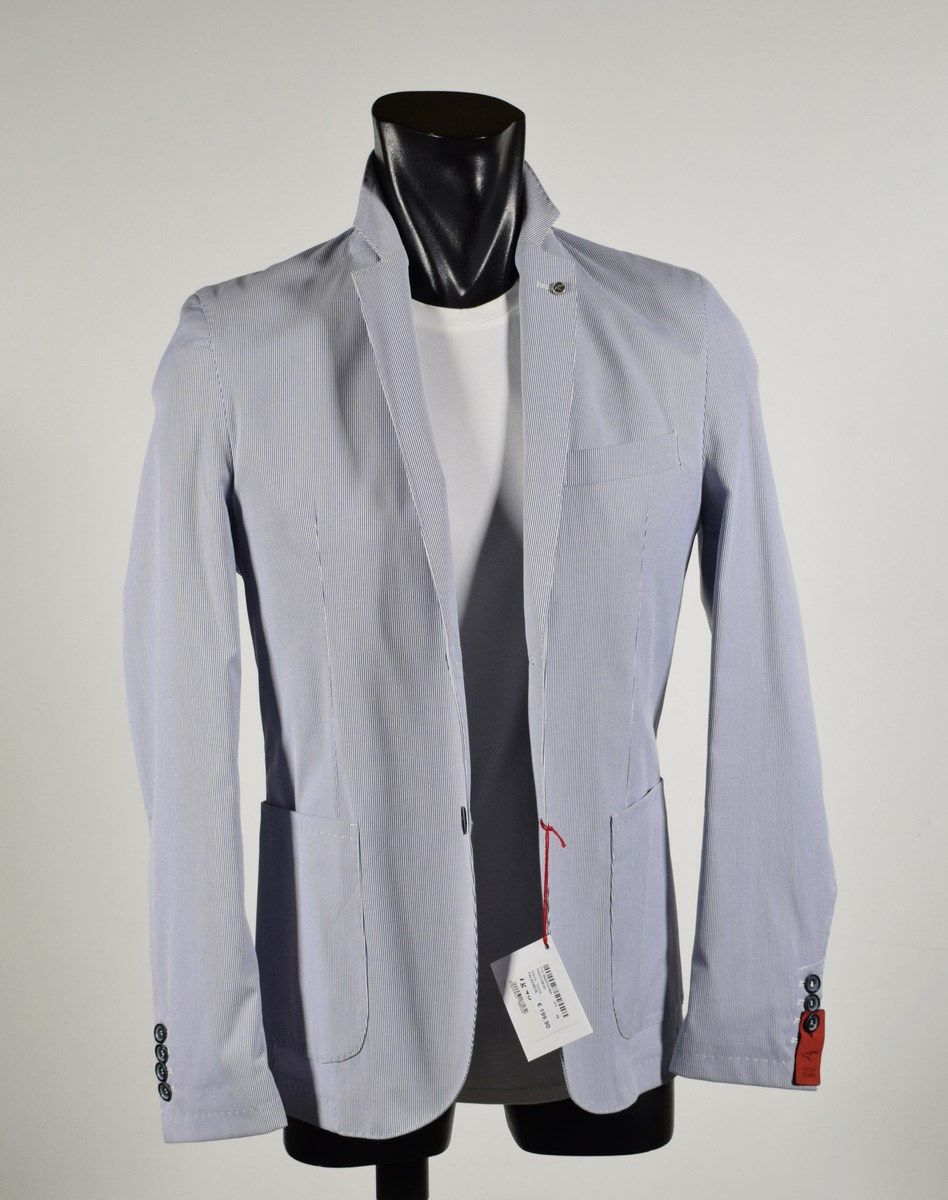 Men s jacket in cotton mixed unlined made in Italy summer 2018 b6e3fb9a096