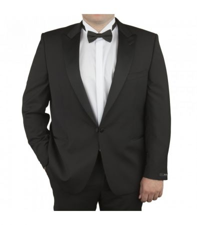 Tuxedo Digel in strong sizes conformed pure Italian wool Marzotto Super 100 's