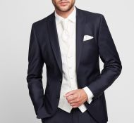Stylish groom Digel gown with damper slim fit waistcoat