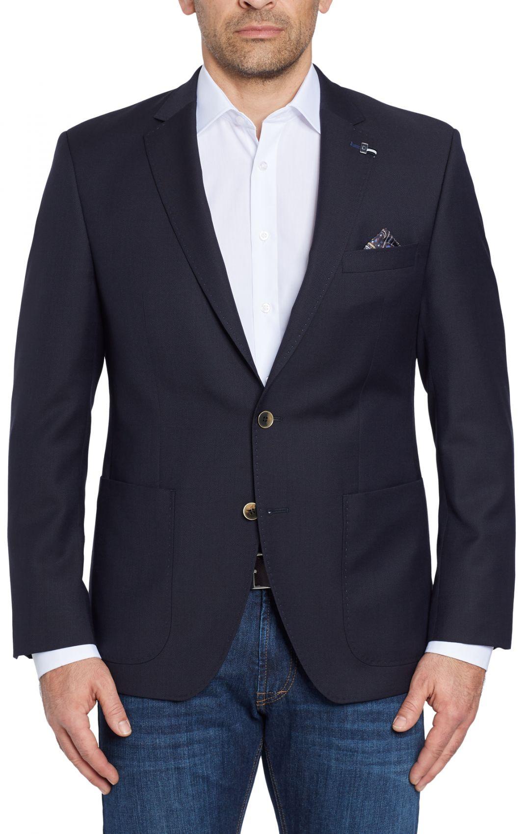 Giacca blazer classico da uomo Digel lana marzotto drop sei