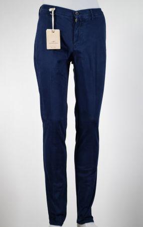 Pantalone quota otto slim fit cotone stretch in quattro colori